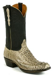 Top of the Line American Alligator Cowboy Boots from Black Jack - Black Jack Boots