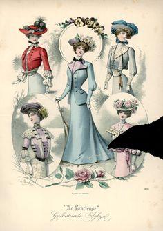 [De Gracieuse] Wandeltoiletten (July 1901)