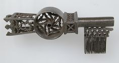 Key Date: 16th century Culture: French Medium: Iron Dimensions: Overall: 3 3/8 x 1 7/16 x 1 in. (8.5 x 3.7 x 2.5 cm)