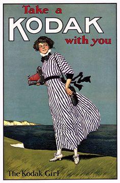 Take a Kodak with you - The Kodak Girl