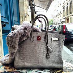 Hermes Birkin--sophisticated elegance. Every girl needs at least one...
