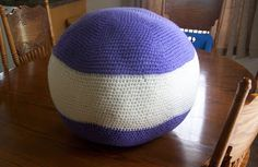 A Really Big Crocheted Ball