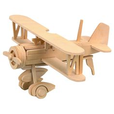Balsa Wood Puzzle - Airplane