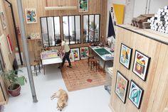 Atelier Bingo / Working place & Home