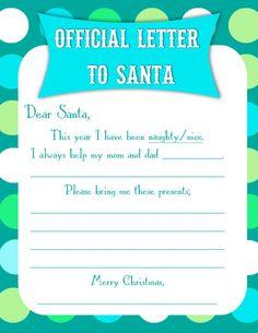 Letter To Santa Pdf Printable Letterhead By Onneke Printables