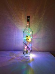 Light Chain, Bottle Lights, Fairy Lights, Cherry Blossom, Coffee Cups, Presents, Hand Painted, Etsy Shop, Bracelets