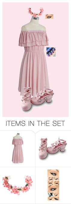 """Spring Off Shoulder"" by ghost1318 on Polyvore featuring art"