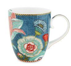 PIP Studio Große Tasse Spring to Life Blue