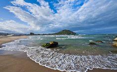 Praia da Ferrugem - Garopaba, Santa Catarina (por Ita Kirsch e Simone Blauth)