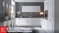 Kuchyňa na mieru Senso Sentima, prevedenie Kasetta od Black Red White. Navštívte naše kuchynské štúdiá - http://www.brw.sk/predajna-siet/  #kuchyna #kitchen #home #interior #blackredwhite