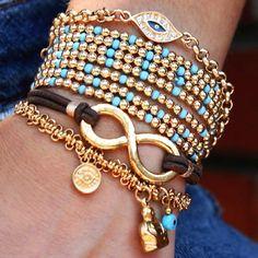 I love bracelets!!