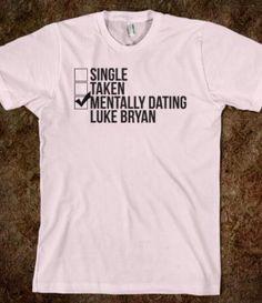 mentalt dating Luke Bryan
