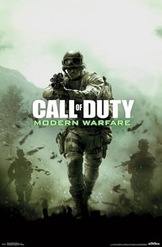 Call Of Duty Modern Warfare Poster Print (22 x 34)