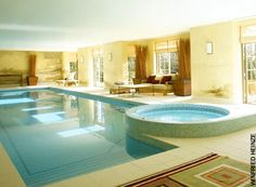 Indoor swimming pools by Paula Robinson Rossouw, The Room Planner: Sunday Telegraph
