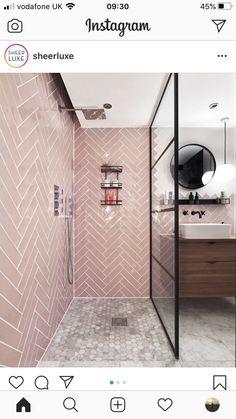 Wet Room Bathroom, Wet Room Shower, Small Shower Room, White Bathroom Decor, Upstairs Bathrooms, Bathroom Design Small, Bathroom Interior Design, Modern Bathroom, Bathroom Shower Tiles