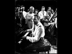 Jeep's Blues - Duke Ellington 1956. I want someone to dance to this with. Bedroom eyes and all. ;)