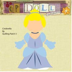 Free like Disney Cinderella Paper Doll in SVG GSD WPC and KNK Formats