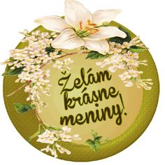 Želám krásne meniny! Magdalena, Lets Celebrate, Decorative Plates, Birthdays, Happy Birthday, Cards, Pictures, Fotografia, Text Posts