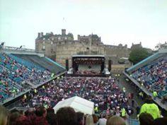 Edinburgh castle - Esplanade