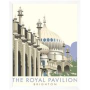 Vintage Poster Giclee Print: Rotal Pavilion, Brighton - Dave Thompson Contemporary Travel Print by Dave Thompson : - Posters Uk, Railway Posters, Modern Posters, Retro Posters, Portsmouth, Yosemite National Park, National Parks, Royal Pavilion, Tourism Poster