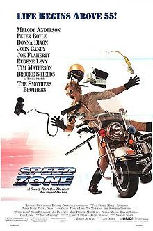 My piece on the long-forgotten third CANNONBALL RUN sequel, SPEED ZONE.