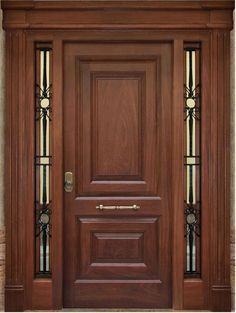 Are you looking for the best wooden doors for your home that suits perfectly? Then come and see our new content Wooden Main Door Design Ideas. Wooden Front Door Design, Main Entrance Door Design, Wood Front Doors, Wooden Doors, Entry Doors, Slab Doors, Front Entry, House Main Door, Classic Doors