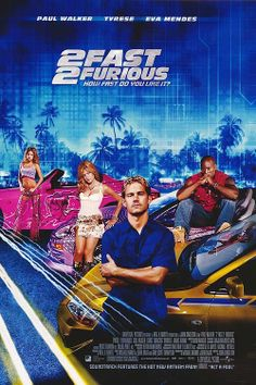 Paul Walker in 2 Fast 2 Furious