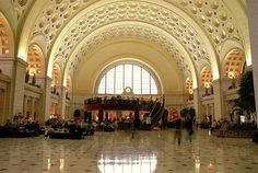 Est. trenes: Union Station, Washington DC, USA.-