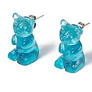 Claire's Gummy Bear Front and Back Earrings  http://www.claires.com/store/us/goods/jewelry/cat1260132/studs/p28639/gummy+bear+front+and+back+earrings/