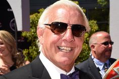 Ric Flair: Movie Star: He's already largely accepted as pro wrestling's G. and a hip-hop icon. He's survived plane crashes, lightning… Emotional Messages, Ric Flair, Wrestling Superstars, Royal Rumble, Aj Styles, Upcoming Films, John Cena, Wwe Wrestlers, Movie Stars