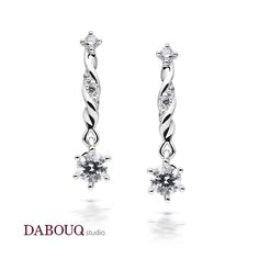 Dabouq Studio Earring - DE0002 - Simple+