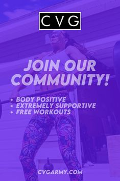 Need motivation? Looking for direction on a strength training routine? We have free workouts and loads of support! Ladies, this is your chance to experience the CVG community! Crossfit Workouts At Home, Workout Gear, You Fitness, Fitness Goals, Need Motivation, High Intensity Workout, Ways To Burn Fat, Medical Advice, Kettlebell