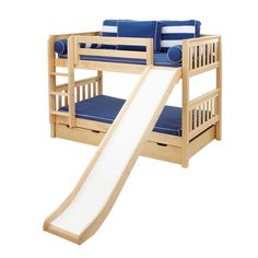 27 Best Cool Bunk Beds With A Slide Images Bunk Beds Kid Beds