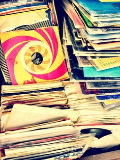 there is nothing like vinyl.....thank you Mom for keeping the groove alive
