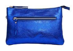 Laura Bag - Metallic Blue