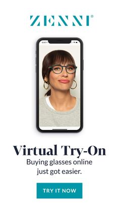 Finding the perfect pair of glasses is easy with Virtual Try-On. Hair Health And Beauty, Hourglass Makeup, Buy Glasses Online, Fashion Eye Glasses, Eye Frames, Free Training, Try On, Face Shapes, Affiliate Marketing