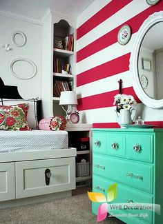 Beautify Your Young Childs Bedroom According To Their Interest  Well Decoration