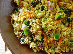 moroccan chickpea couscous salad