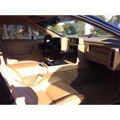 Fiero Car Interior