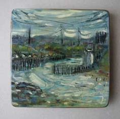 Tynemouth, oil on board.22/06/2008