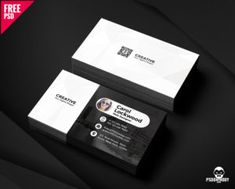 Classic business card free psd bundle classic business card simple business card free psd fbccfo Gallery