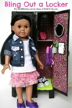 Craft Your Own Doll Size Lockers - Doll It Up