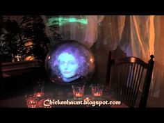 Sybil the Clairvoyant - Halloween Projection Effect