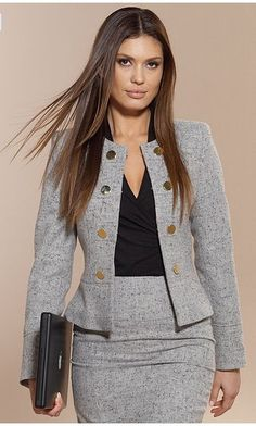 Business-Outfits Business-Outfits in 2020 Business Outfits, Office Outfits, Business Suits For Women, Business Casual, Work Suits For Women, Club Outfits, Blazer Fashion, Fashion Outfits, Womens Fashion