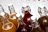 Flavored and Bottled Kombucha Tea