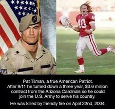 """#SEALTeamConsulting ...... """"Somewhere inside, we hear a voice. It leads us in the direction of who we wish to become. But it is up to us whether or not to follow.""""   Cpl. Pat Tillman--U.S. Army Ranger  www.SEALTeamChallenge.com"""