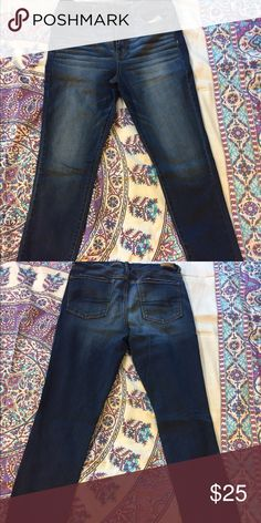 American Eagle Jeans Size 14. Super stretch. Never worn but no tags. American Eagle Outfitters Jeans Skinny