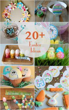 20+ Easter ideas - NoBiggie