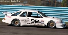 Mercury Merkur XR4Ti - Kruse Racing Ford Sierra, Road Race Car, Race Cars, Car Pics, Car Pictures, Ford Rs, Watkins Glen, Vintage Race Car, Trans Am