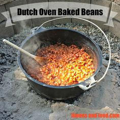 Our Dutch Oven Baked Beans recipe is cooked low and slow over hot coals to bring out all the traditional flavors that make them a neighborhood favorite.